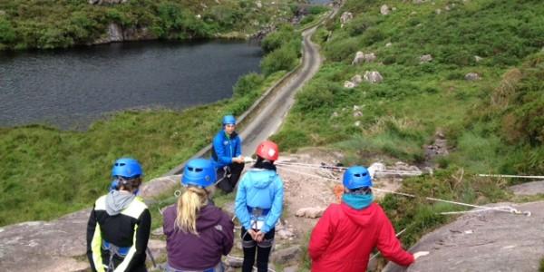 rock climbing gap dunloe